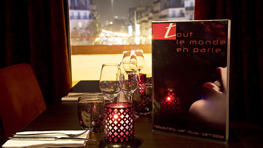 Carte du restaurant Tout le Monde en Parle - Paris Montparnasse