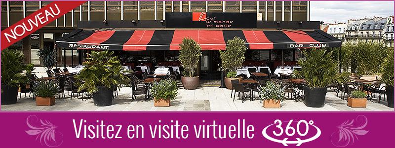 Visite Virtuelle 360° - Visitez le restaurant comme si vous y étiez !