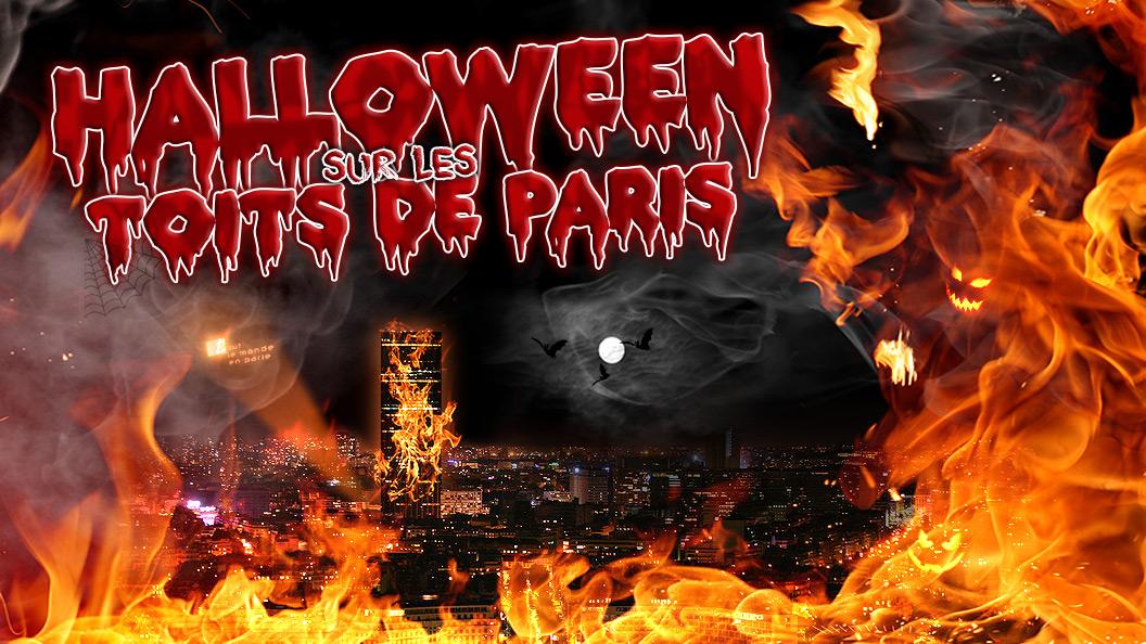 Soirée Halloween spéciale sur les toits de Paris au TLMP
