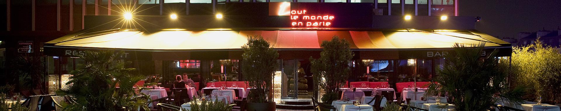 Restaurant Paris 14ème Tout le Monde en Parle rooftop terrasse bar ...
