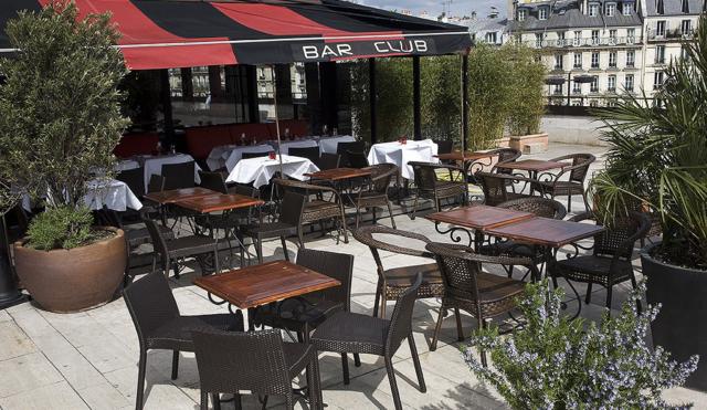 Restaurant terrasse Paris Montparnasse