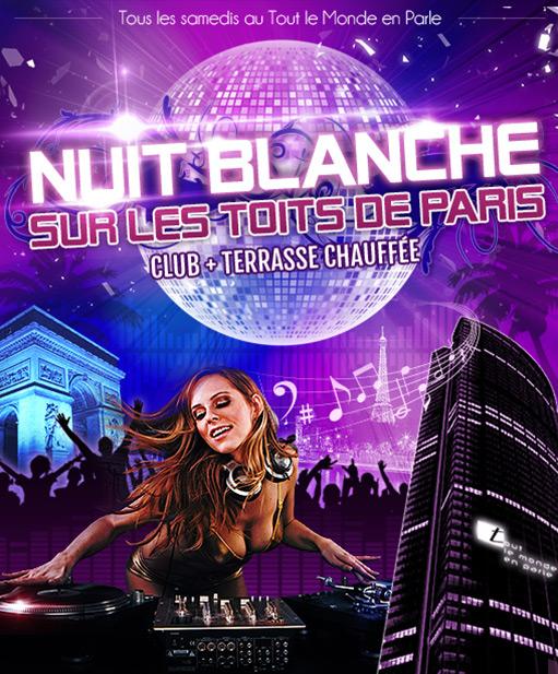 Soirée disco clubbing Paris samedi soir