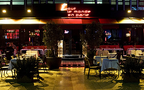 Restaurant paris 14 me tout le monde en parle rooftop for Garage paris club