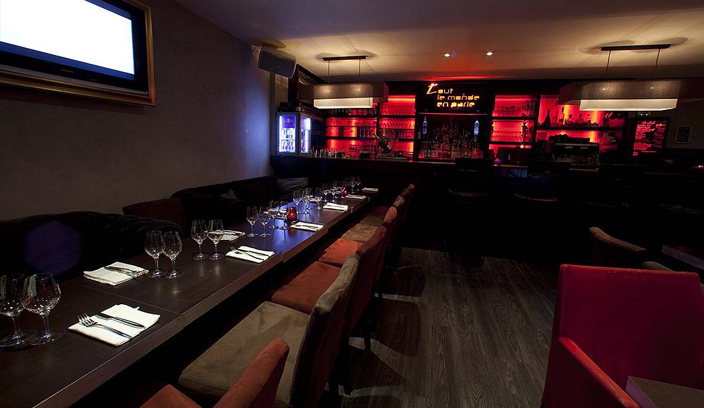 Restaurant pour groupe - location de salle Paris