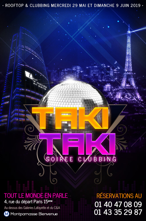 Soirée TAKI TAKI Veille de jour férié