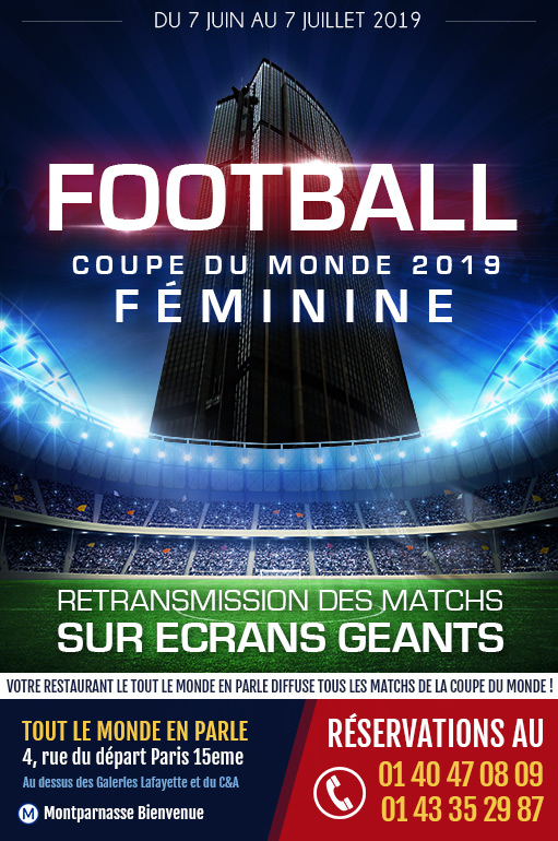 Coupe du monde féminine 2019 de Football