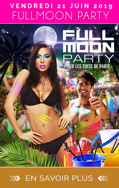 Soirée Full Moon Party Paris Fête de la Musique 2019
