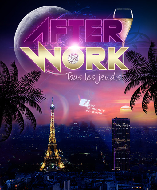 Afterwork du jeudi à Paris au TLMP