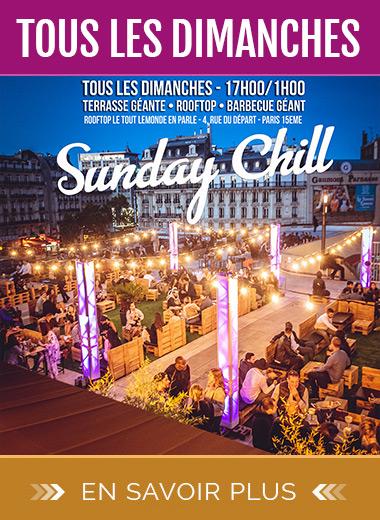 Sunday Chill : Barbecue Géant sur les toits de Paris